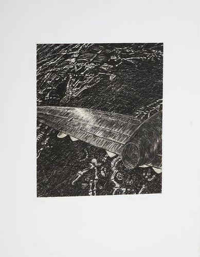 YVONNE JACQUETTE (b. 1934): OPERATION DESERT STORM, FROM ELAINE DE KOONING MEMORIAL PORTFOLIO