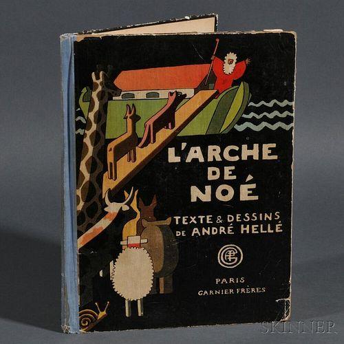Hellé, André [aka André Laclôtre] (1871-1945) L'Arche de Noé