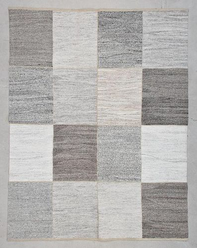 "Modern Turkish Kilim: 6' x 7'9"" (183 x 236 cm)"