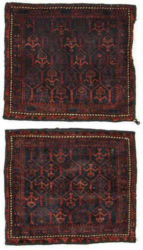 Pair of Semi-Antique Beluch Rugs