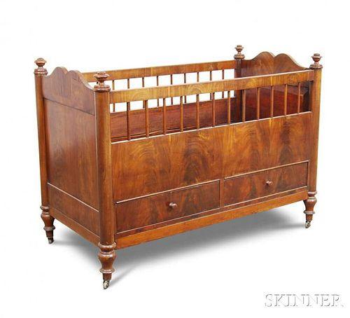 Classical Mahogany Crib