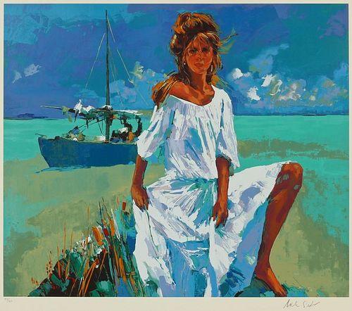 Nicola Simbari (Italian, 1927-2012) Color Serigraph