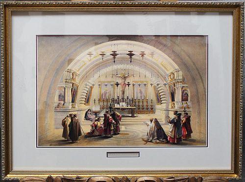 Roberts, David, Scottish 1796-1864,