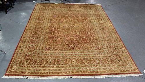 Modern Handmade Oushak Design Carpet.