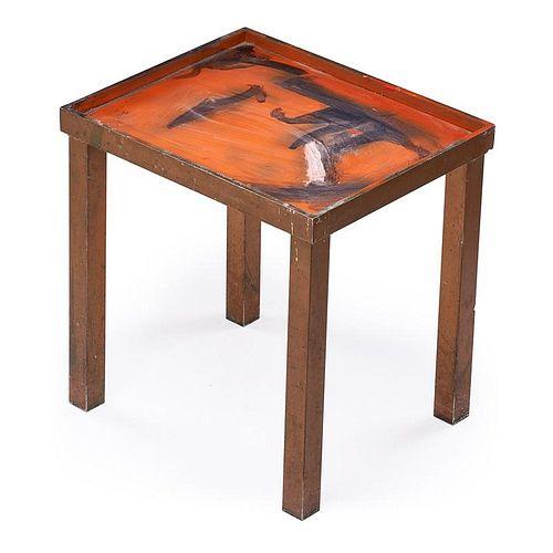 ROBERT LOUGHLIN The Smoking Man table