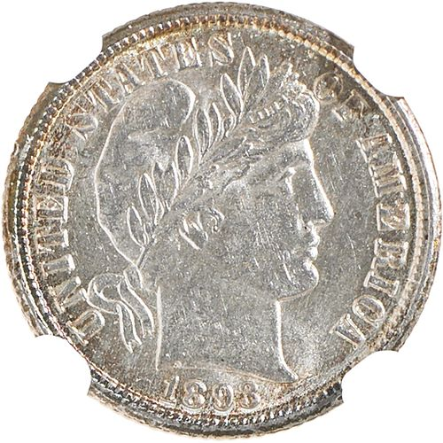U.S. 1893-O BARBER 10C COIN