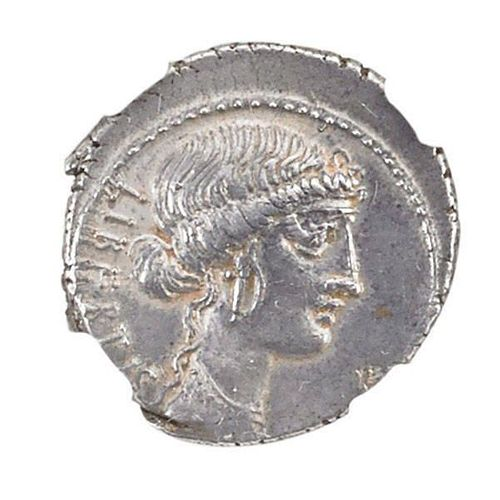 ANCIENT ROMAN IMPERATORIAL AR DENARIUS COIN