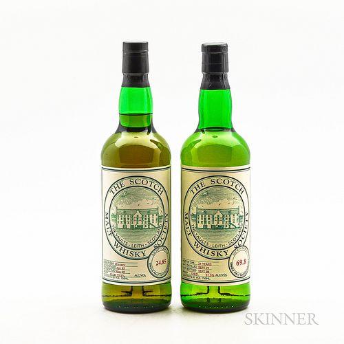 Scotch Malt Whisky Society, 2 750ml bottles