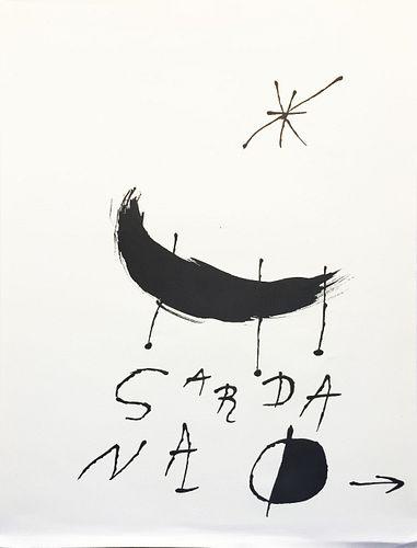 Joan Miro - Untitled IV from Les Essencies de la Terra